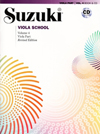 Suzuki Viola Book & CD, Vol. 4